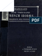 Marchand - French Idioms !