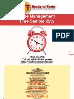 Time Management Training Slides free sample powerpoint slides ppt