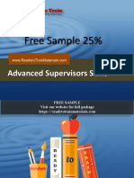 Supervision Skills Training Materials for Trainers Free Sample