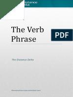 The Verb Phrase