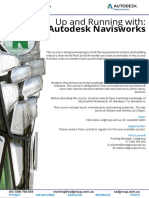 Up and Running With Autodesk Navisworks NEW