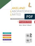 Lieferprogramm Phosphate Esters