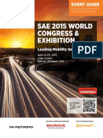SAE 2015 Congress Guide