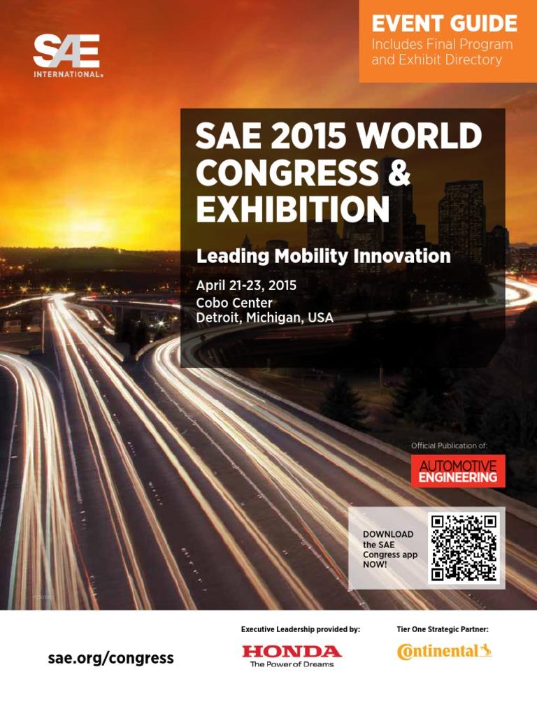 SAE 2015 Congress Guide   Autonomous Car   Honda