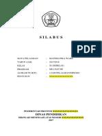 Silabus MTK Wajib XI 2017/2018