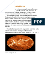 Planet Mercur