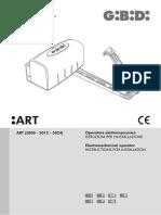 ART (5000 - 5012 - 5024) Operatore Elettromeccanico ... - GiBiDi