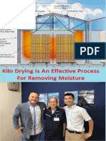 Kiln Drying is an Effective Process for Removing Moisture