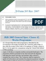 CPM According to Contract & CPM Checklist