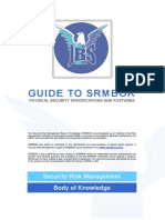 JBS Guide to SRMBoK - Physical Security Specifications and Postures