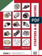 Catalogo de Motores de Partida-Alternadores