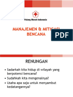 ASB & Manajemen Bencana Youth Centre DIKLAT Asisten Pembina 2015 PMI BMS