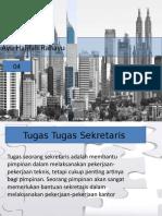 Tugas - tugas sekretaris