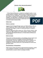 Você Entende o Hino Nacional Brasileiro