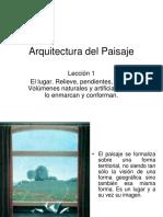 Arquitectura del Paisaje