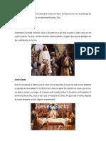La Semana Santa Fue La Última Semana de Cristo en La Tierra