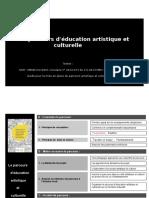 """Guide """"Parcours d'éducation artistique et culturelle"""" (PEAC)"""