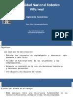 Ing Economica - S3 - Valor Futuro y Capitalizacion