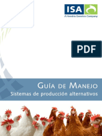 Guia de Manejo Sistemas de Produccion Alternativos (Gallina Isa Brown).