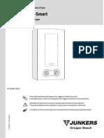 Manuale Caldaia Gas Junkers