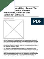 Sinpermiso-chomsky Sobre Zizek y Lacan No Me Interesan Estos Falsarios Intelectuales Horros de Todo Contenido. Entrevista-2015!10!27
