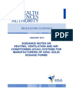 ----HSA Guide for HVAC in OSD Plant