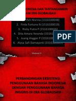 Bahasa Indonesia Dan Tantangannya Dalam Era Globalisasi