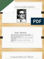 O Governo de Jânio Quadros.pptx