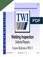 TWI Welding Training 3