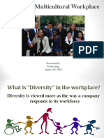 Managing Diversity in the Workplace