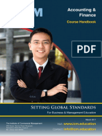 Accounting & Finance Handbook