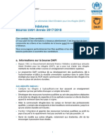 1. Formulaire de Demande DAFI_FR