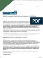Gestión Integral de Mantenimiento Basada en Confiabilidad - Reliabilityweb_ a Culture of Reliability