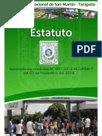 Nuevo Estatuto 2014 UNSM -T
