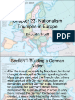 chapter 20- nationalism triumphs in europe
