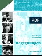 Begegnungen A1+_Lehrerhandbuch