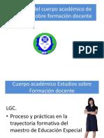Cuerpos Academicos 2016