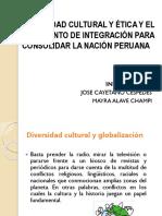 Diversidad Cultural y Ética