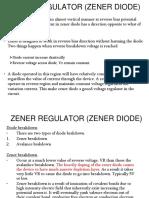 2d Zener Regulator (Zener Diode)