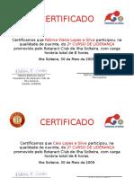 Modelo de Certificado de Participacao