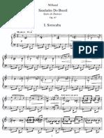 Milhaud - Saudades Do Brasil Op.67 (Piano)