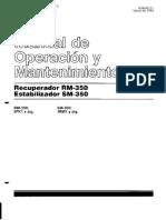 Manual Operador CAT RM 350 y CAT SM 350