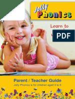 jolly teacher and parent handbook