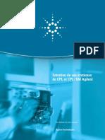 Entretien HPLC AGILENT