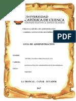 Unidad Académica de Administración