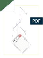 Isometrico - Área de Serviço