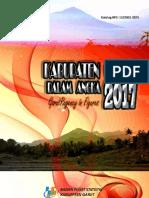Kabupaten Garut Dalam Angka 2017