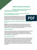 Nitronic33 UNS N24000 Roundbars Wholesallers