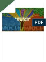 Basic Criminal Procedure by Bautista