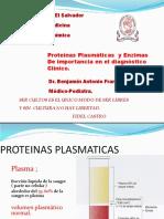Clases 7 y 8 - Proteínas Plasmáticas y Enzimas en El Dx Clínico